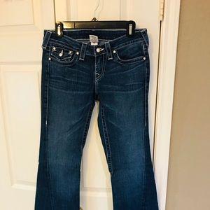True Religion Jeans - True religion pearl buttons wide leg jeans